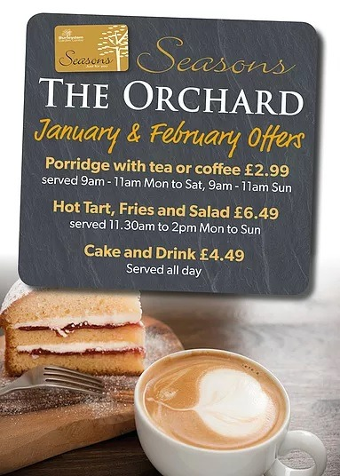 orchard offers