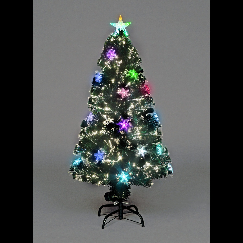 Fiber Optic Christmas Trees.Cosmos Fibre Optic Christmas Tree 3ft